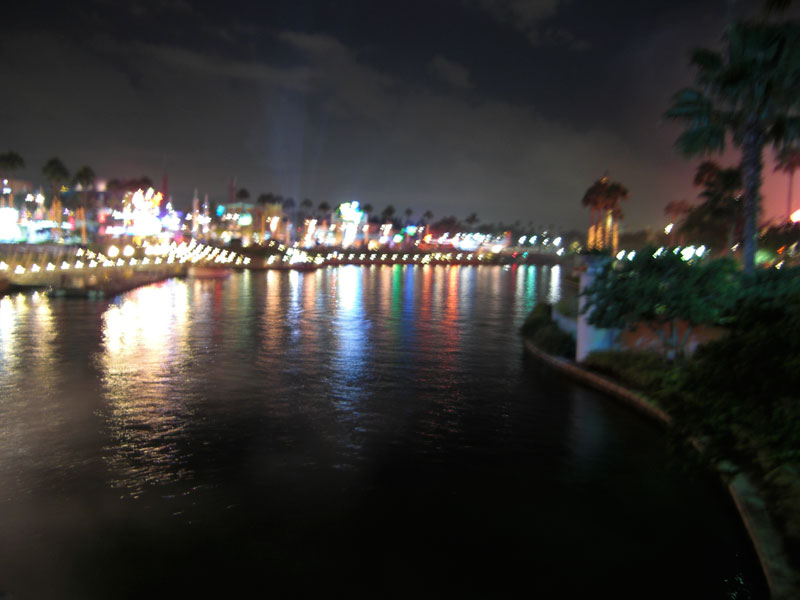 View of Universal City Walk by Night