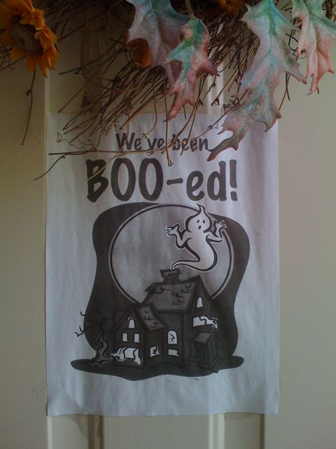 Day 25 – We have been Boo-ed – Twice