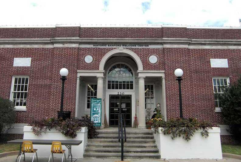 Day 56 – Historic Sanford Welcome Center