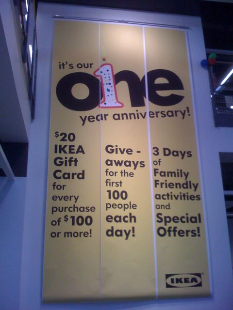Day 59 – IKEA Orlando One Year Anniversary
