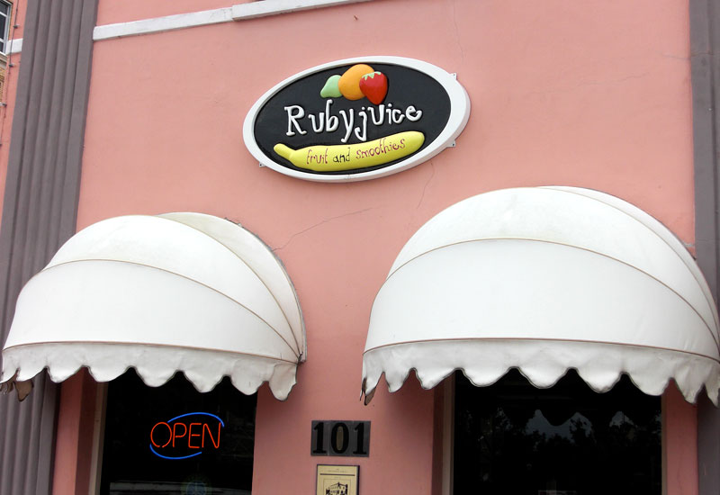 Rubyjuice Fruit and Smooties in Sanford on First Street