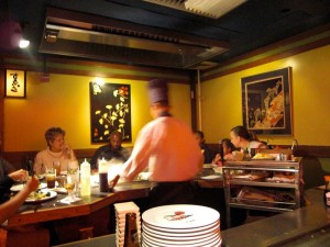 Chef at Kobe
