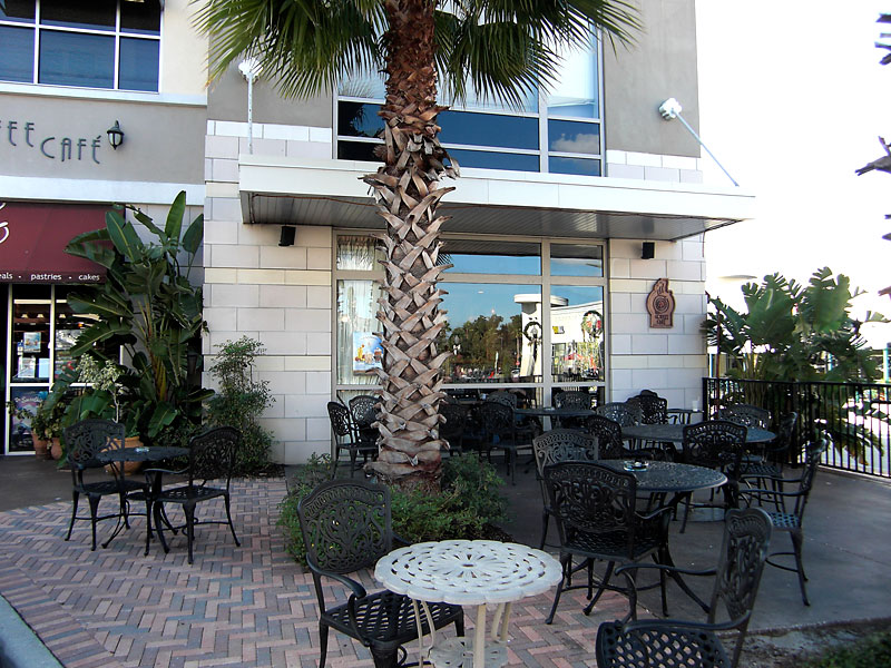 Patio of The Coffee Cafe