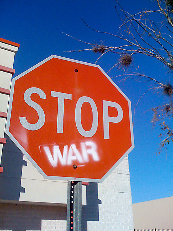 Day 81 – Stop War Sign