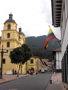 La Candelaria in Bogota