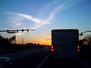 Sunset on a Sanford Street