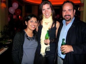 Jessica, I and Jose at the Monkey Bar