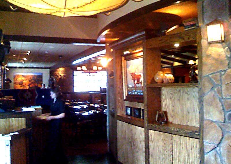 Longhorn Steakhouse Interior