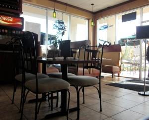 Inside Gio's Cafe