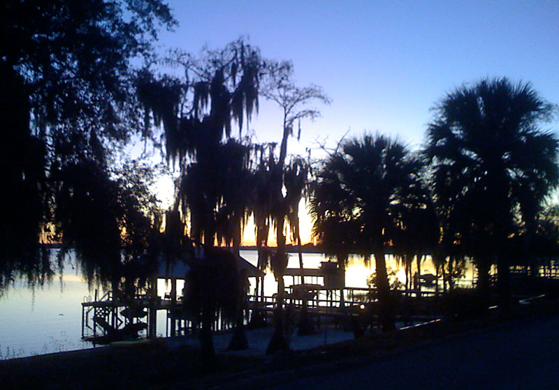 Day 136 – Sunset in Clermont Florida