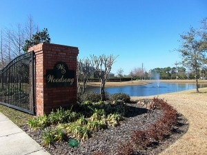 Woodsong Subdivision in Sanford