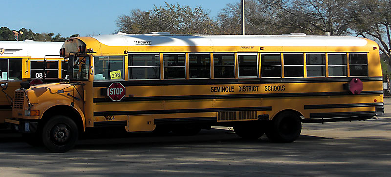 Day 173 – Seminole County School Bus