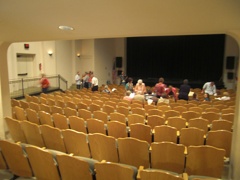 Inside Wayne Densch Perfomaing Arts Center