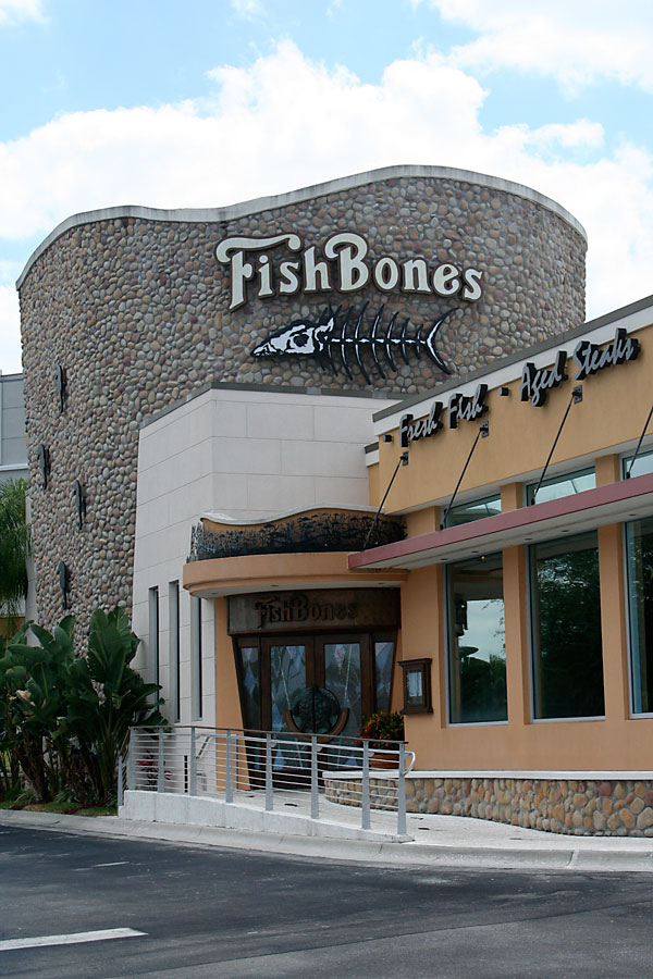 Day 224 – Fishbones Seafood Restaurant in Lake Mary FL