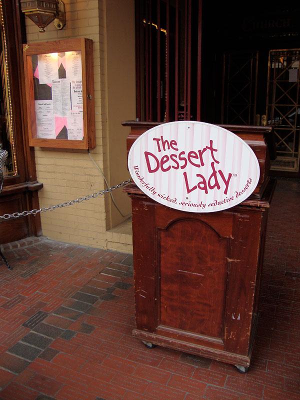The Dessert Lady