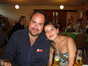 Jose and Pili at the Fundraiser