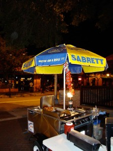 Hot Dog Stand Downtown Orlando
