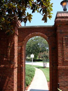 Brick Archway by Lake Forest Sanford