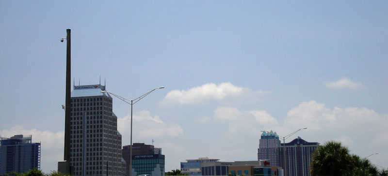Day 278 – Orlando Skyline from Colonial Drive Exit on I-4