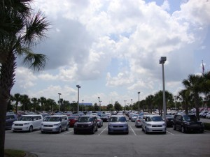 Lots of Cars at David Maus Toyota