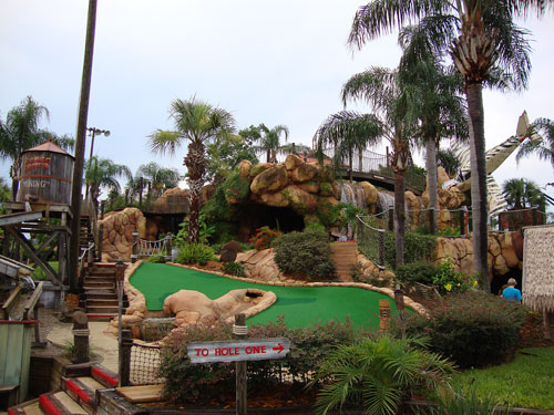 Day 282 – Congo River Mini Golf in Altamonte Springs FL