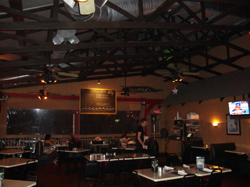 Inside the Swamp House Grill