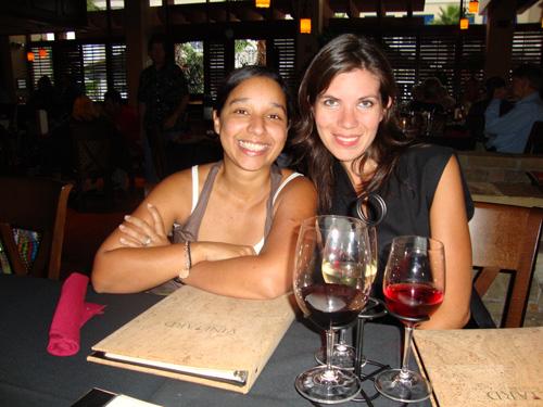 Sampling Wine