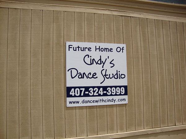 Cindy's Dance Studio New Location