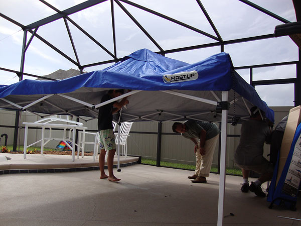 Day 332 – Building Up a Tent