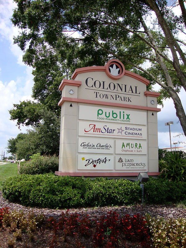 Restaurants at Colonial Town Park Lake Mary