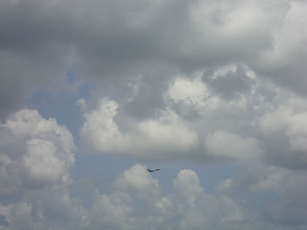 Day 355 – Airplane in the Sky of Sanford