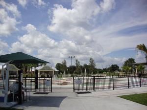 Splash Pad at Fort Mellon Park in Sanford FL