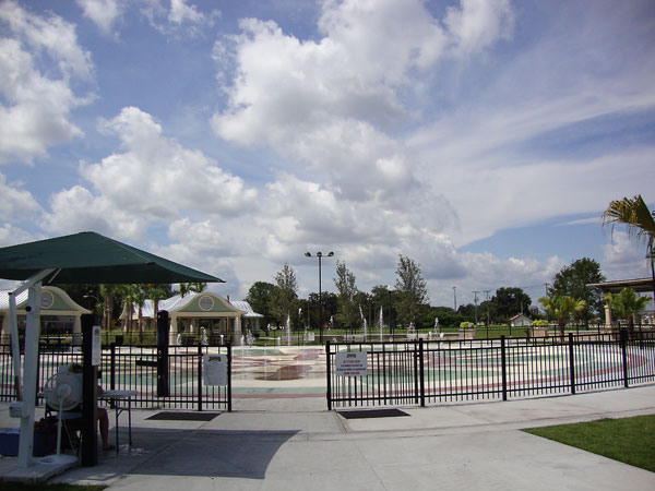 Splash Pad at Fort Mellon Park in Sanford FL