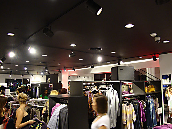 Inside H&M at the Florida Mall Orlando FL