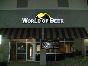 World of Beer Lake Mary - Opening October 2010