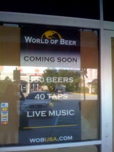 World of Beer Lake Mary FL