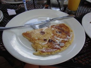 Pancake at Peach Valley Cafe Lake Mary