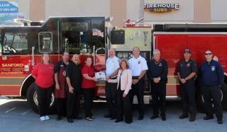 Firehouse Subs Sanford FL Ceremony
