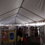 Student Art Tent at Lake Mary Heathrow Festival of the Arts 2011