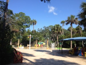 Things to do with kids in Sanford FL - Splash Pad Sanford Zoo
