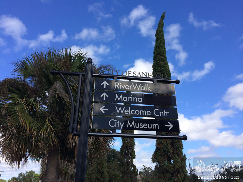 Sanford Directional Signs