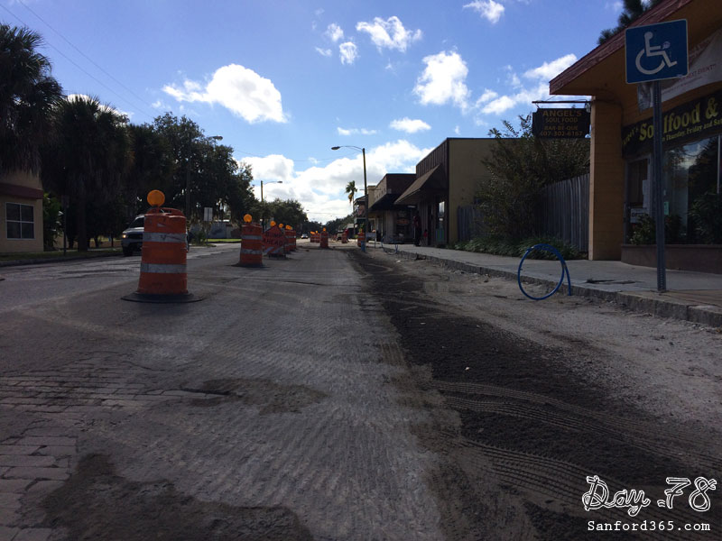 Sanford Avenue Road Construction