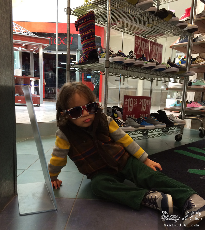 Shoe Shopping at Journey's at Seminole Town Center Mall