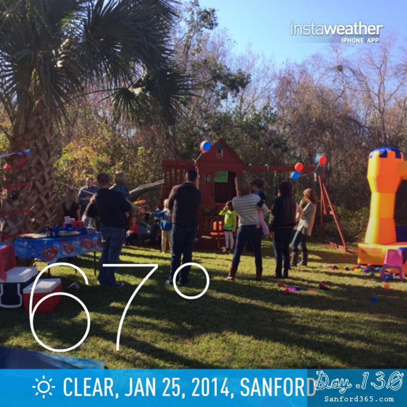 Sanford Garden Party