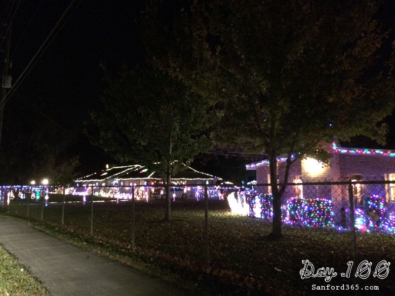 Upsala Christmas Lights in Sanford FL