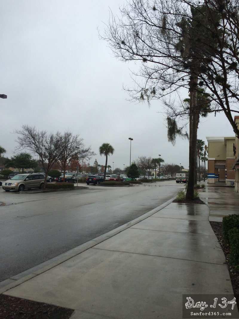 Rainy day in Sanford FL