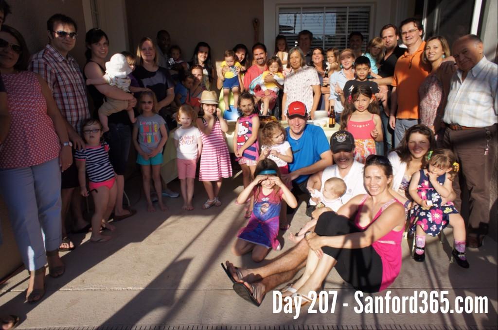 A Sanford Birthday Party