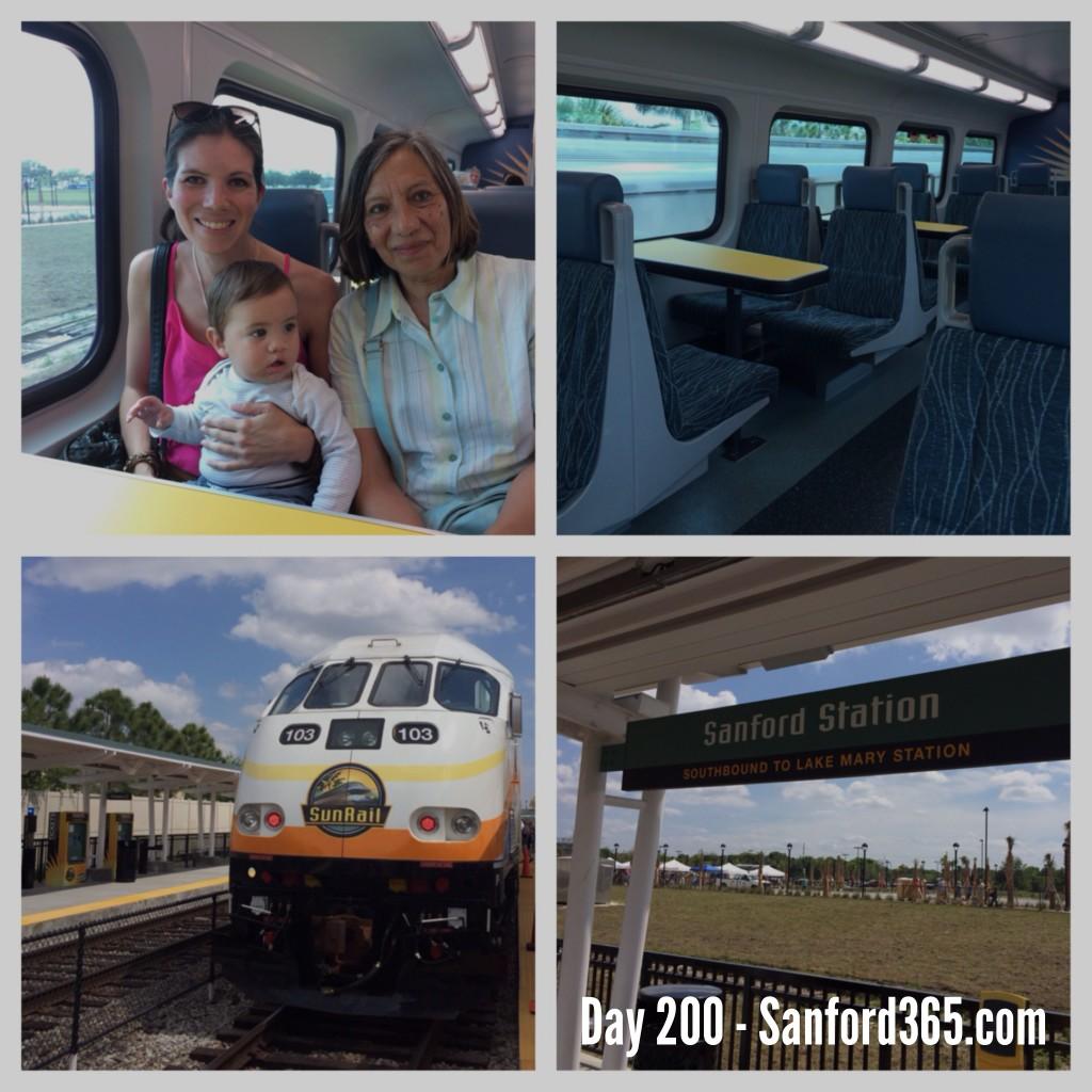 Sunrail Sanford Station