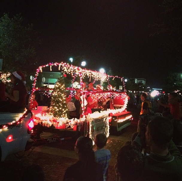Sanford FL Parade of Lights Downtown