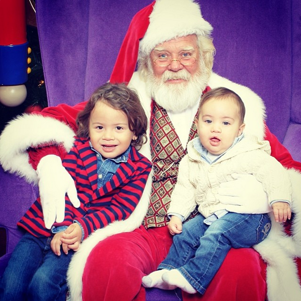 Santa pictures at Seminole Towne Center Mall in Sanford, FL
